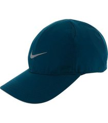 gorra nike featherlight running-azul