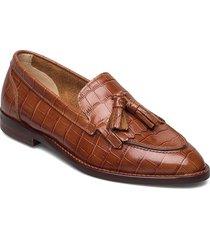 st beeton loafer loafers låga skor brun gant