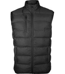 chaqueta termico sintetico sin costuras negro andesland