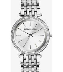 mk orologio darci tonalità argento - argento (argento) - michael kors