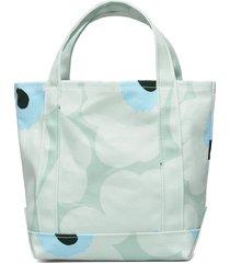 seidi pieni unikko bags top handle bags blauw marimekko