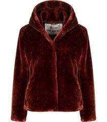giacomo | coat dark cognac