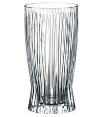 conjunto com 2 copos fire long drink 375ml riedel