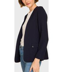 blazer ash azul - calce regular