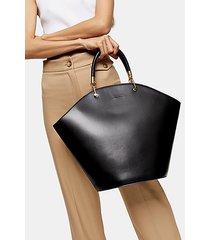 toff black wing tote bag - black