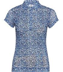 bella mesh cap s polo shirt t-shirts & tops polos blå daily sports