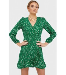 ax paris v neck long sleeve mini dress loose fit dresses