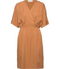 eden dress jurk knielengte oranje storm & marie