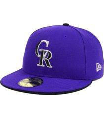 new era colorado rockies authentic collection 59fifty cap