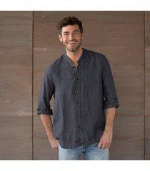 cp shades tony yarn-dyed shirt-indigo