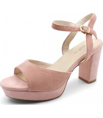 sandalia barbara rosado toffy co.