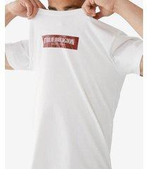 men's arch box logo short sleeve crewneck tee