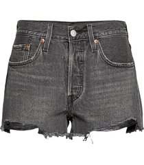 501 original short eat your wo shorts denim shorts svart levi´s women
