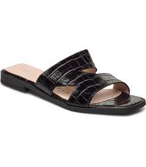 a-1405 shoes summer shoes flat sandals svart wonders