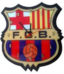reloj de pared equipos de futbol barcelona – multicolor