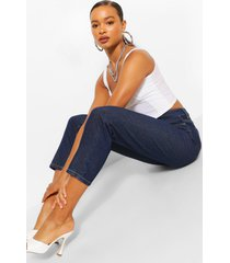 moyfriend jeans met middelhoge taille, indigo