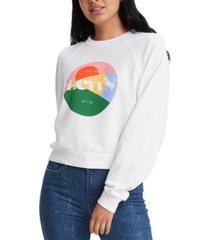 levi's women's vintage raglan crewneck sweatshirt