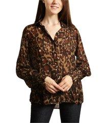 calta leopard printed shirt