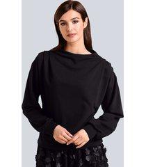 sweatshirt alba moda zwart