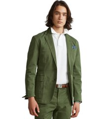 polo ralph lauren men's polo unconstructed chino suit jacket