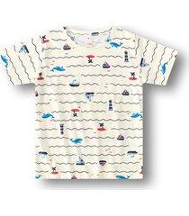 camiseta marisol play - 11207407i bege - bege - menino - dafiti