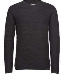 reiswood 2.0 gebreide trui met ronde kraag grijs minimum