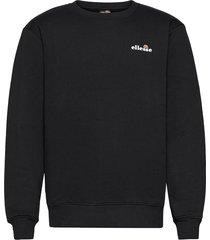 el brufa sweatshirt sweat-shirt tröja svart ellesse