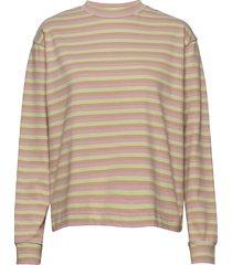 astrid long sleeve t-shirts & tops long-sleeved beige wood wood