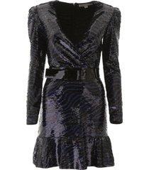 tiger sequins dress