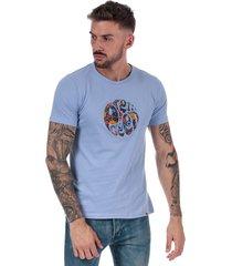 mens aster applique logo t-shirt