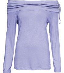 maglia con spalle scoperte (viola) - rainbow