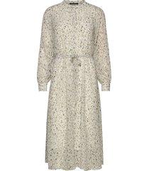haze mirrah dress knälång klänning creme bruuns bazaar