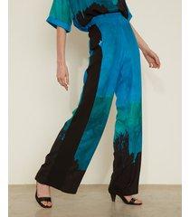 pantalón azul desiderata lulu