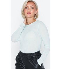 nly trend barely there top långärmade toppar