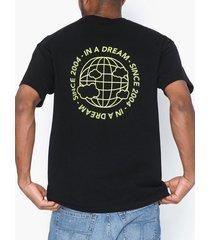 dr denim trooper tee t-shirts & linnen svart