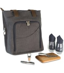 legacy by picnic time 9-piece sonoma wine & cheese picnic tote