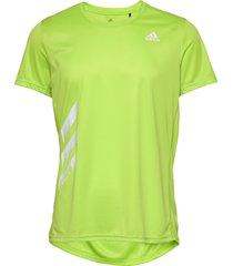 run it tee pb t-shirts short-sleeved grön adidas performance