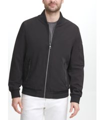 calvin klein men's full-zip flight jacket