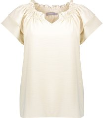 13201-20 t-shirt v-hals smock