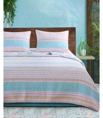 barefoot bungalow pacifica quilt set, 2-piece twin bedding