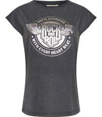rock en roll t-shirt nikoline  zwart