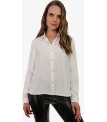 blusa sara blanca jacinta tienda