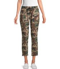 true religion women's camo-print jogger pants - camo print - size s