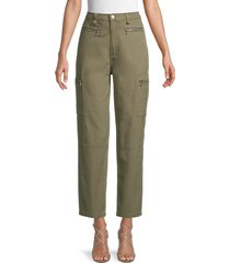 weworewhat women's utility pants - olive - size 24 (0)