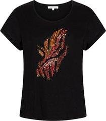 i01-95-401 t-shirt pailetten