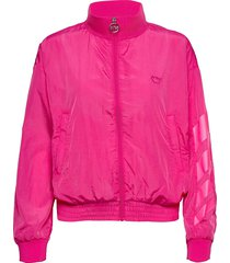 u. dark windbreaker jacket sommarjacka tunn jacka rosa svea