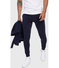 pantalón azul navy-blanco puma