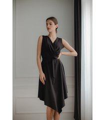 sukienka l080 czarny