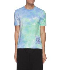 'genesis ii' tie dye jersey cotton t-shirt