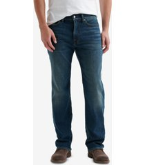 lucky brand men's 363 straight-fit coolmax temperature-regulating jeans